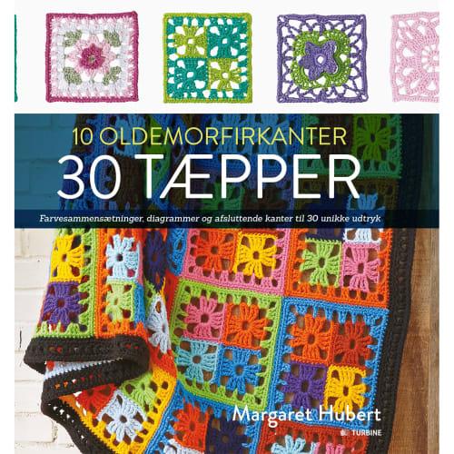 Image of   10 oldemorfirkanter - 30 tæpper - Indbundet