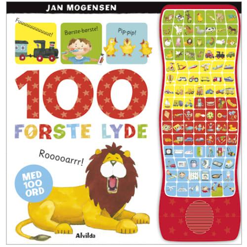 Image of 100 første lyde - med 100 ord - Papbog
