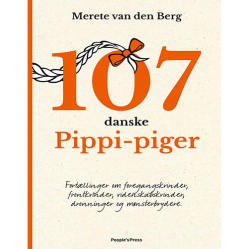 Image of   107 danske Pippi-piger - Indbundet