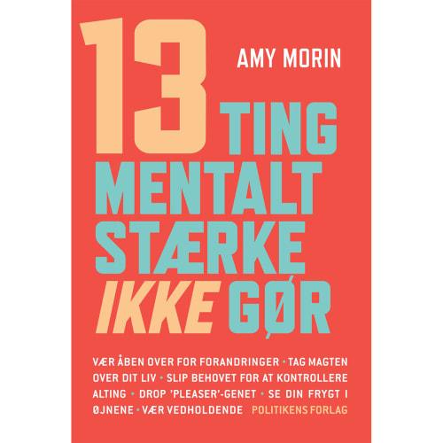 Image of   13 ting mentalt stærke ikke gør - Hæftet