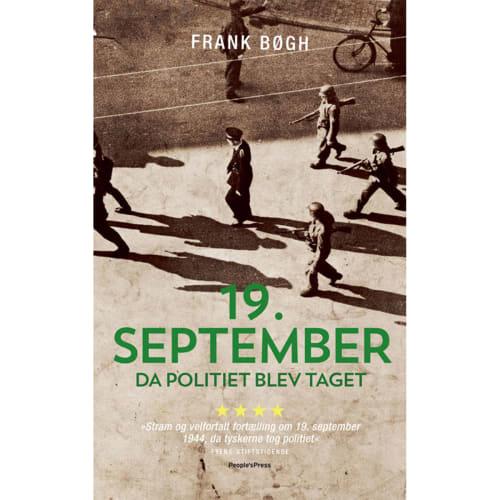 Image of   19. September - Da politiet blev taget - Paperback