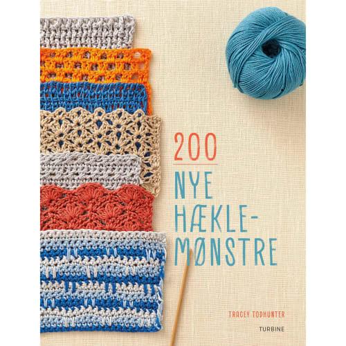 Image of   200 nye hæklemønstre - Hæftet