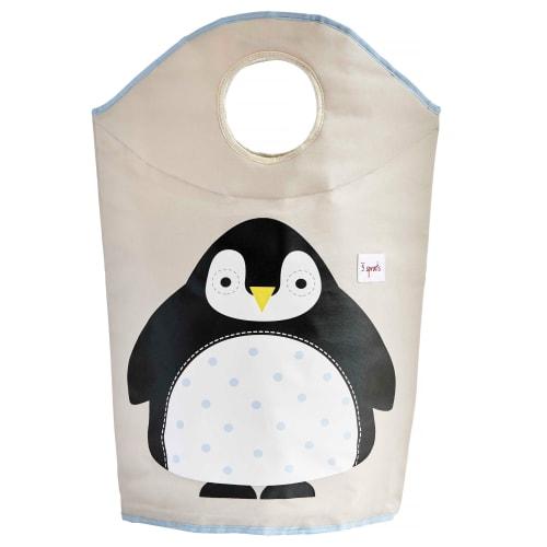 Image of 3 Sprouts vasketøjskurv - Pingvin