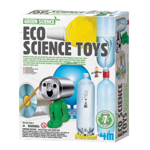 Image of   4M eksperimenter med genbrugsmaterialer - Green Science