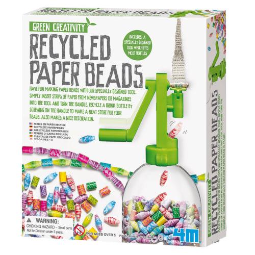 Image of 4M Green Creativity genbrugspapir-perler