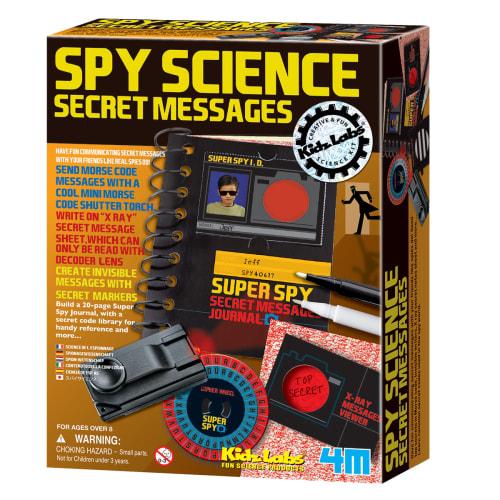 Image of 4M hemmelige beskeder - Spy Science