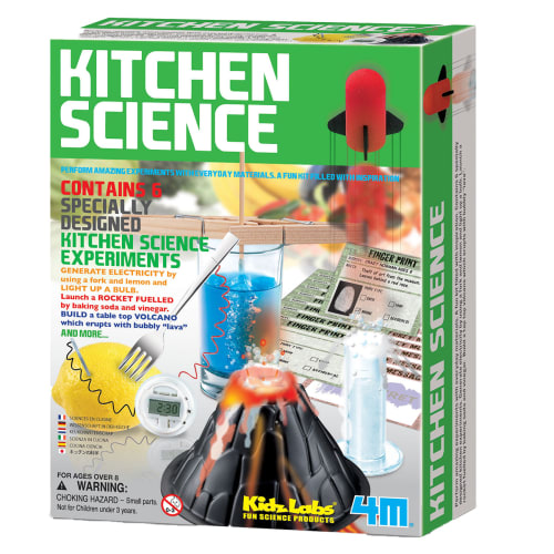Image of   4M køkkeneksperimenter med hverdagsting - Kitchen Science