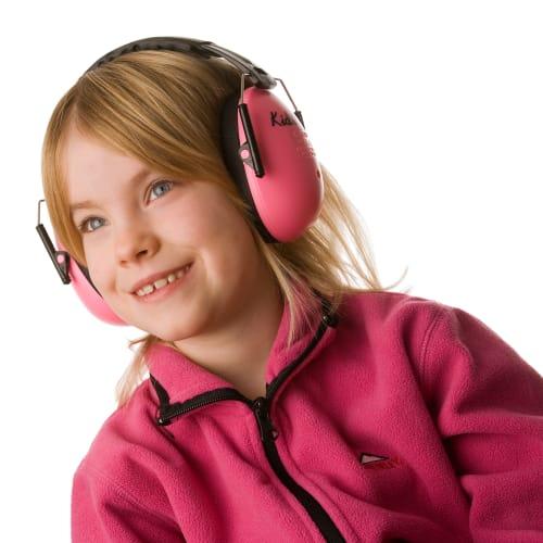 A-Safety høreværn til børn - Pink