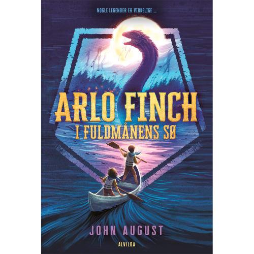 Image of   Arlo Finch i fuldmånens sø - Arlo Finch 2 - Indbundet