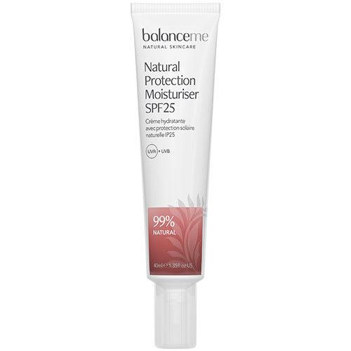 Image of   Balance Me Natural Protection Daily Moisturiser SPF 25 - 40 ml