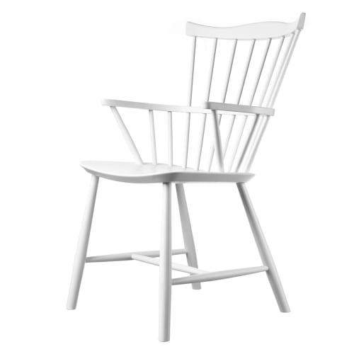 Børge Mogensen stol - J52B - Hvid