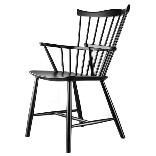Børge Mogensen stol - J52B - Sort