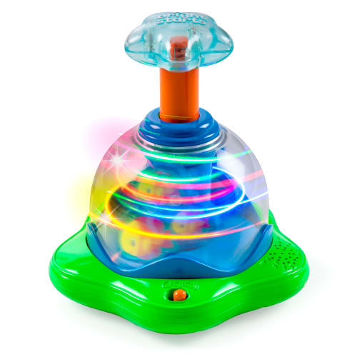 Image of   Bright Starts lys-spinner - Press & Glow Spinner