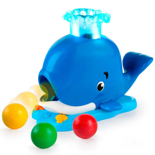 Image of   Bright Starts puttekasse - Silly Spout Whale Popper