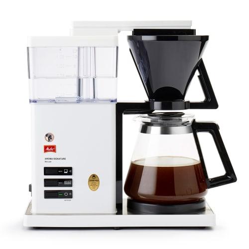 Image of   Cirkelpige kaffemaskine - Aroma Signature Deluxe - Hvid