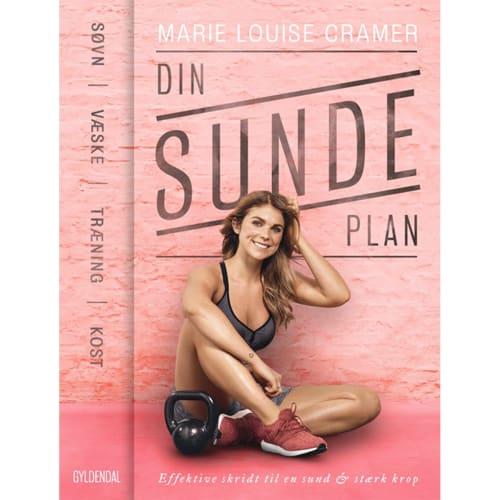 Image of   Din sunde plan - søvn, væske, træning & kost - Hæftet
