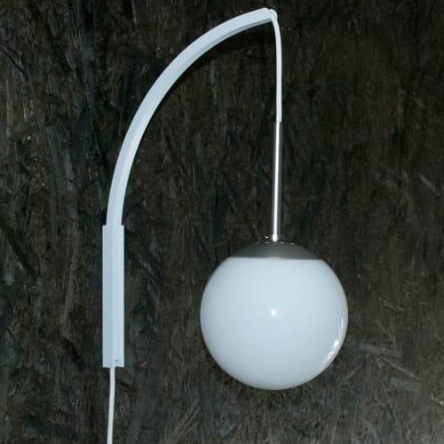 Image of   DybergLarsen cafépendel med vægbeslag - Hvid
