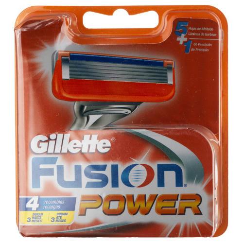 Gillette Fusion Power 4-pak