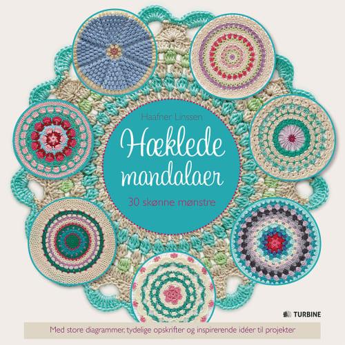 Image of   Hæklede mandalaer - Indbundet