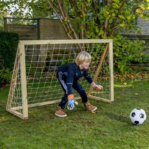 Homegoal fodboldmål - Classic Mini - Natur