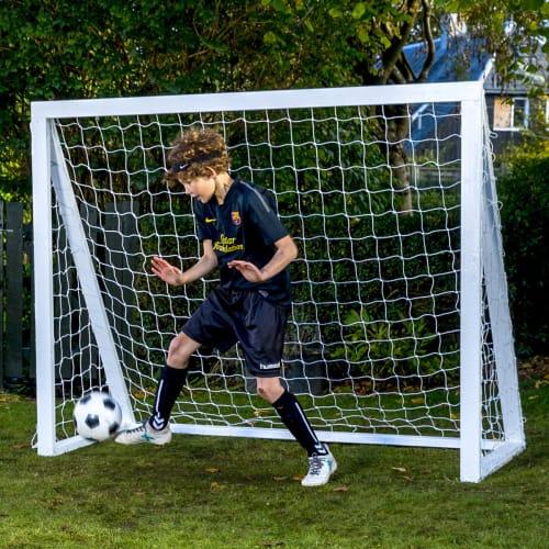 Homegoal fodboldmål - Pro Senior - Hvid