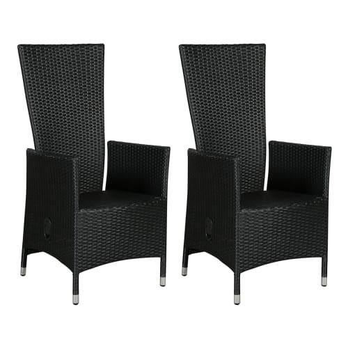 Isabella Positionsstole - 2 Stk. - Sort