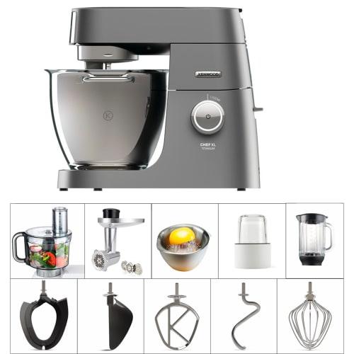 Kenwood Køkkenmaskine - Chef Xl Titanium - Kvl8470s