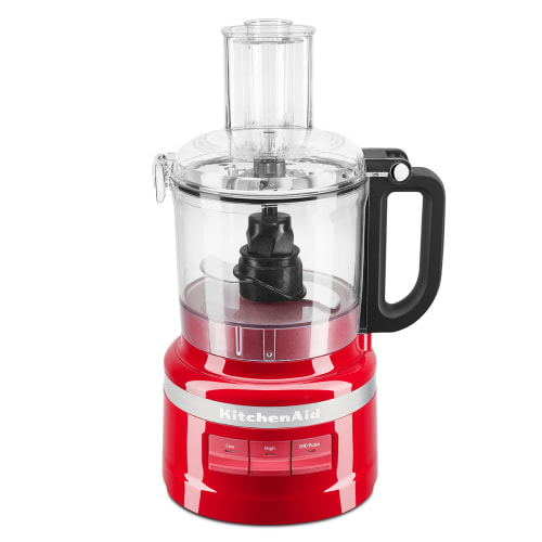 Kitchenaid Foodprocessor - 7 Cup - Rød
