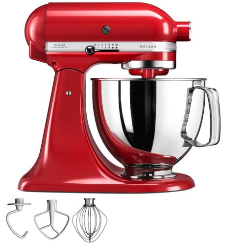 Kitchenaid Køkkenmaskine - Artisan - Rød