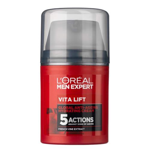 Image of   LOréal Paris Men Expert Vitalift Global Anti-Ageing Cream - 50 ml