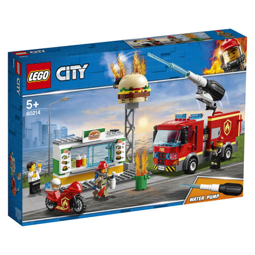 Image of   LEGO City Brand på burgerbaren
