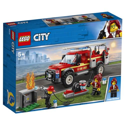 Image of   LEGO City Brandchefens pionervogn