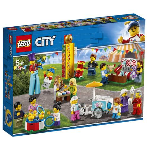 Image of   LEGO City Figursæt - Forlystelsespark