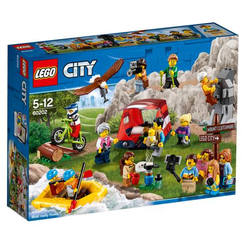 Image of   LEGO City Figursæt - Udendørs oplevelser