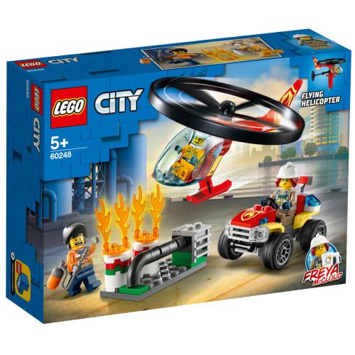 Image of   LEGO City Fire Brandvæsnets helikopterenhed