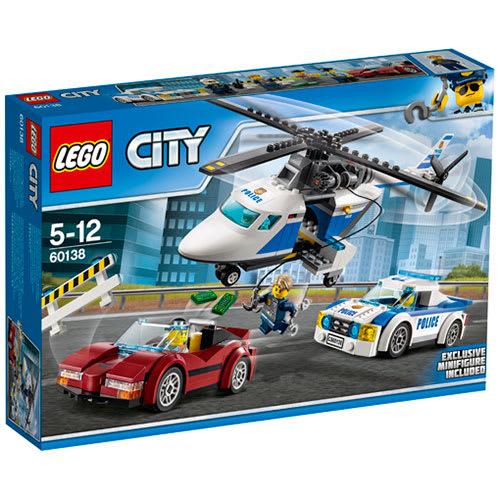 Image of   LEGO City Jagt i høj fart