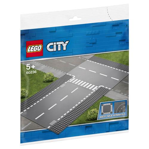 Image of   LEGO City Lige vejbane og T-kryds