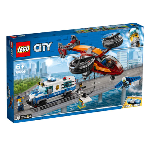 Image of   LEGO City Luftpoliti - diamantkup