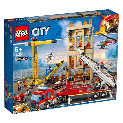 Image of   LEGO City Midtbyens brandvæsen