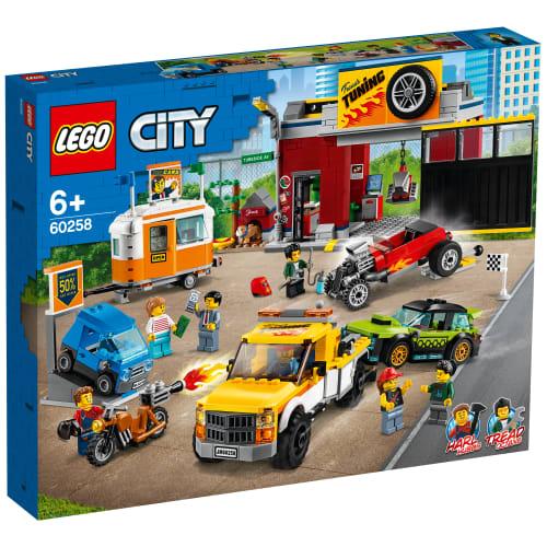 Image of   LEGO City Nitro Wheels Motorværksted