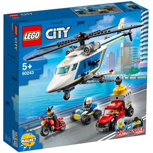 Image of   LEGO City Police Politihelikopterjagt