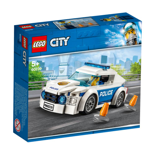 Image of   LEGO City Politipatruljevogn