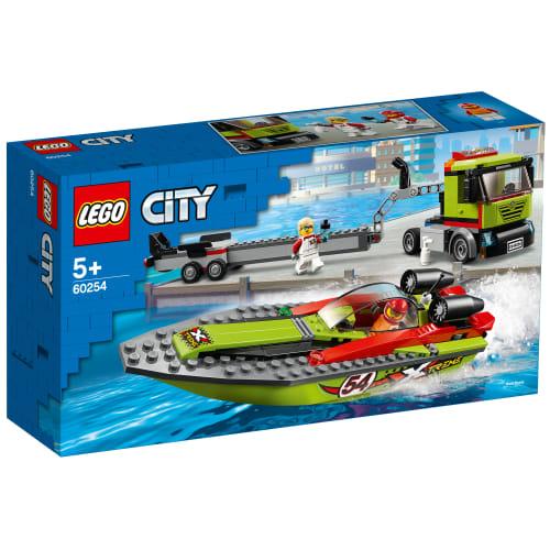 Image of   LEGO City Racerbådstransporter