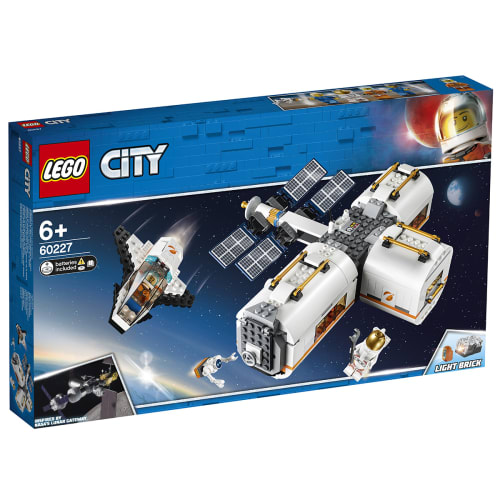 Image of   LEGO City Space Port Måne-rumstation