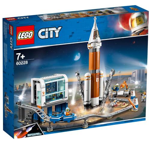 Image of   LEGO City Space Port Rumraket og affyringscenter