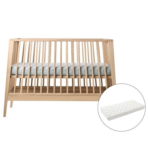 Linea by Leander babyseng inkl. madras - Massivt eg