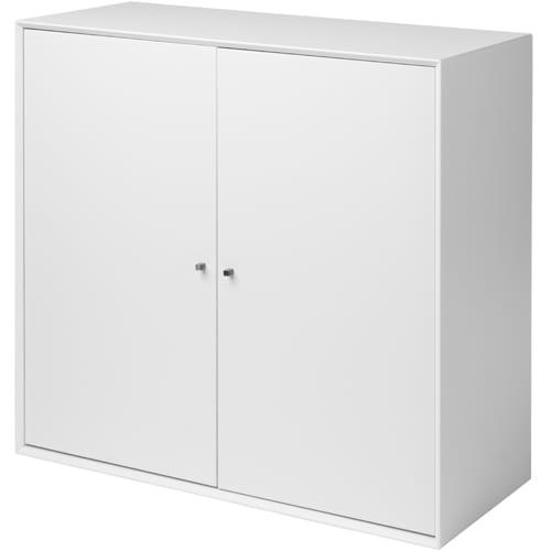 Living&more Reol - The Box Skab - 71,2 X 76,4 X 34 Cm - Hvid
