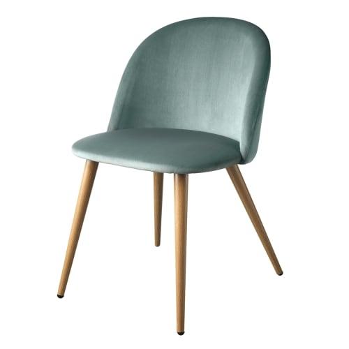 Living&more Spisebordsstol - Laura - Lysegrøn