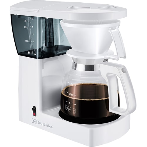Melitta Kaffemaskine - Excellent 4.0 - Hvid