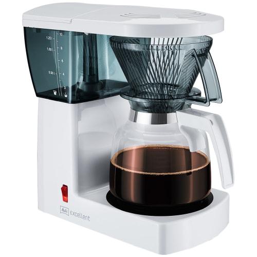 Image of   Melitta kaffemaskine - Excellent - Hvid